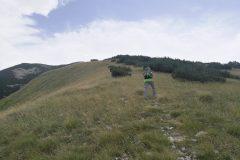 Verso il Monte Rapina