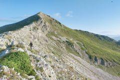 Cresta verso Cimata Fossa dei Cavalli