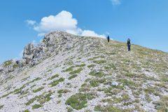 Scendendo da Monte Rozza