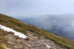 Nebbia dal basso