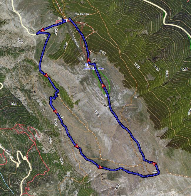 Anello cresta Vallone